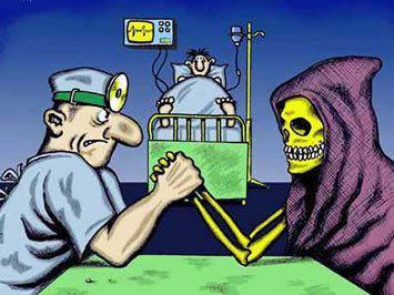 Kampen om liv og død